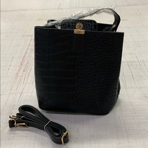 Women's black bag
